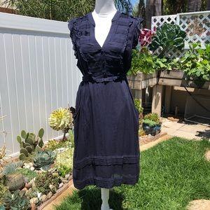 Anthropologie Odille All Seasons Sleeveless Dress